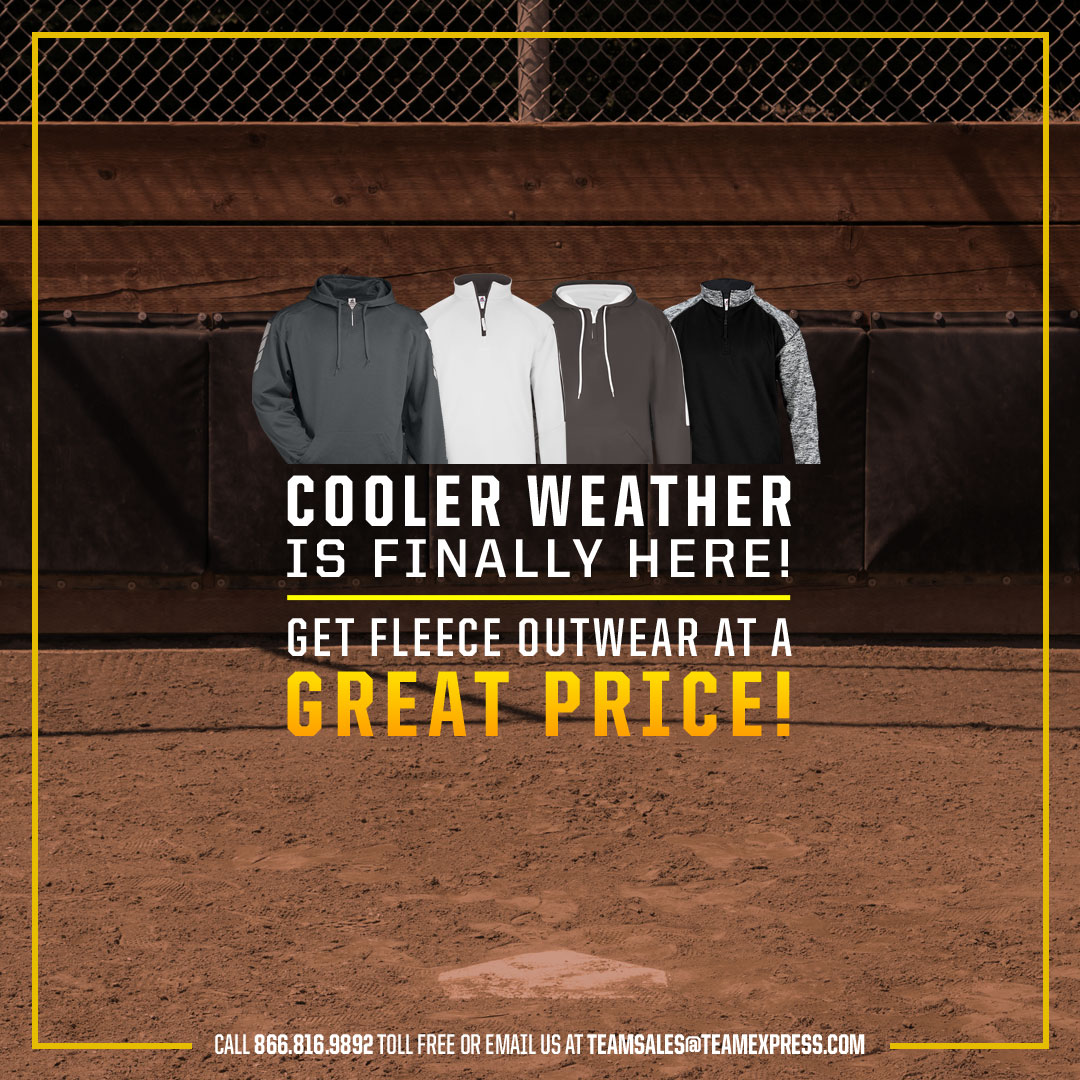 Fleece Outerwear Team Specials