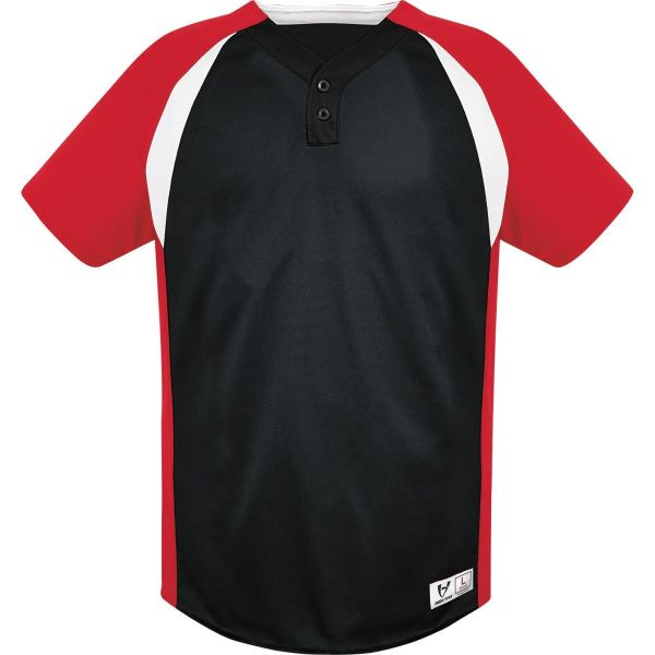 High Five Adult Gravity Two-Button Baseball Jersey