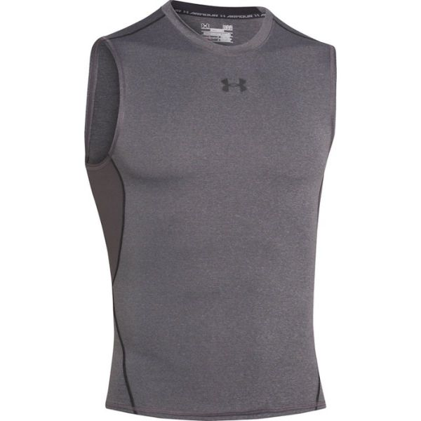 Under Armour Mens HeatGear Armour Sleeveless Compression Sh