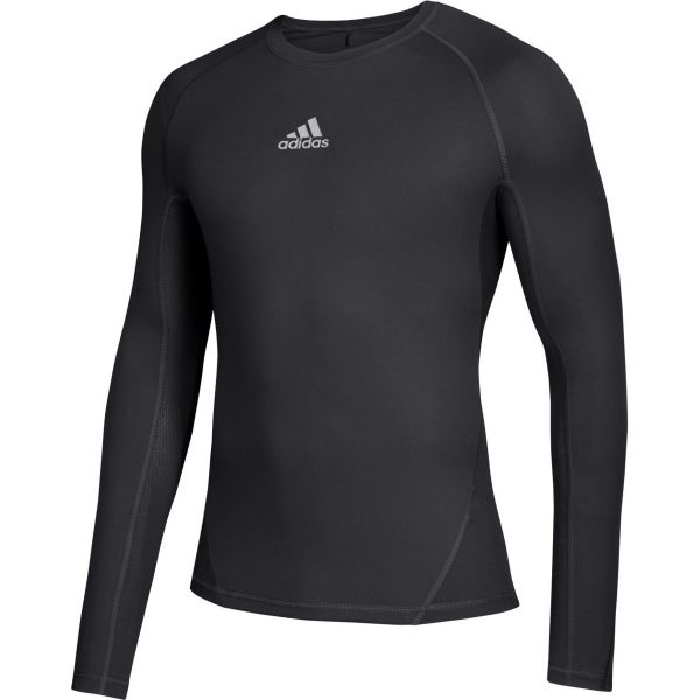 Adidas Youth Alphaskin Long Sleeve Compression Shirt