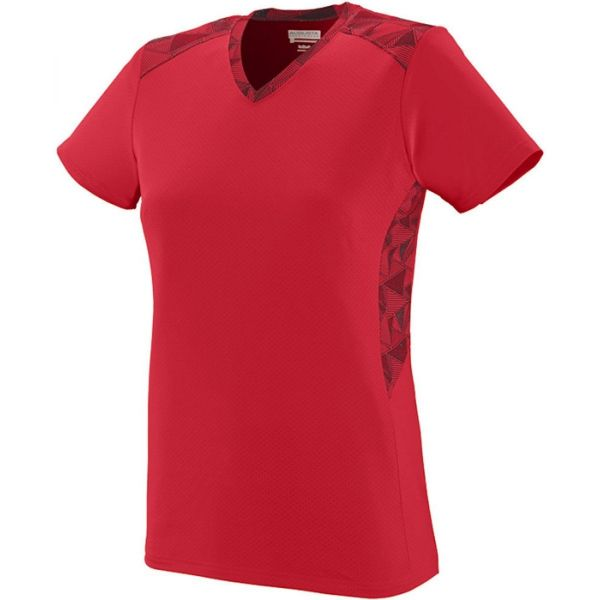 Augusta Girls' Vigorous Softball Jersey