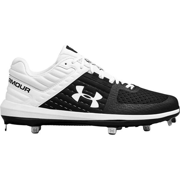 Under Armour Mens Yard Low ST Metal Baseball Cleats
