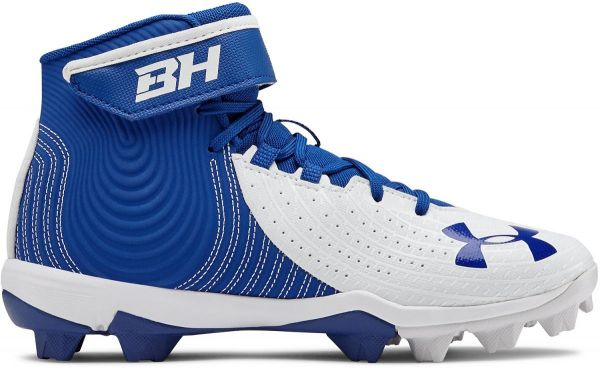 Under Armour Youth Harper 4 Mid Molded Baseball Cleats