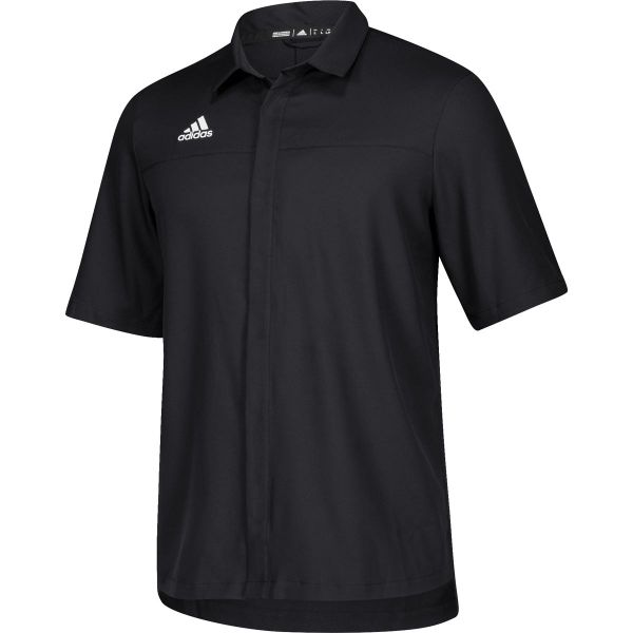 Adidas Men's Team Iconic Full Button Polo