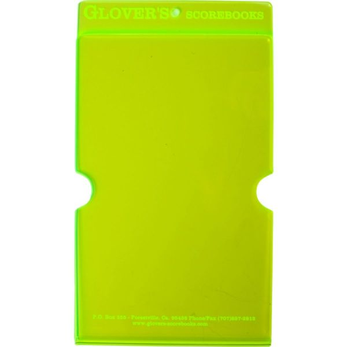 Glover's Scorebooks Acrylic Line-Up Card Holder