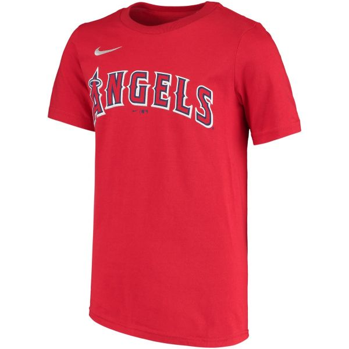 Nike MLB Replica Team Youth Wordmark Poly Tee
