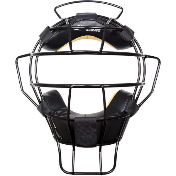 Champro Lightweight Umpire Mask with Leather Pads