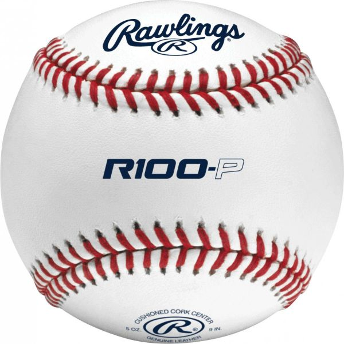 Rawlings R100P High School Practice Baseballs (Dozen)