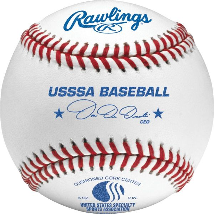 Rawlings Official League USSSA Tournament Baseball (Dozen)