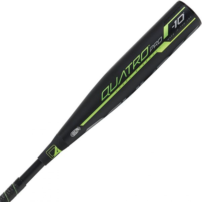 Rawlings 2019 Quatro Pro -10 Comp USSSA Baseball Bat (2 3/4)