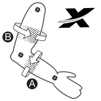 xprotex elbow guard fitting guide support image