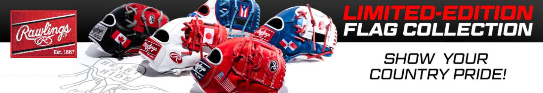 Rawlings Heart Of The Hide Flag Baseball Gloves