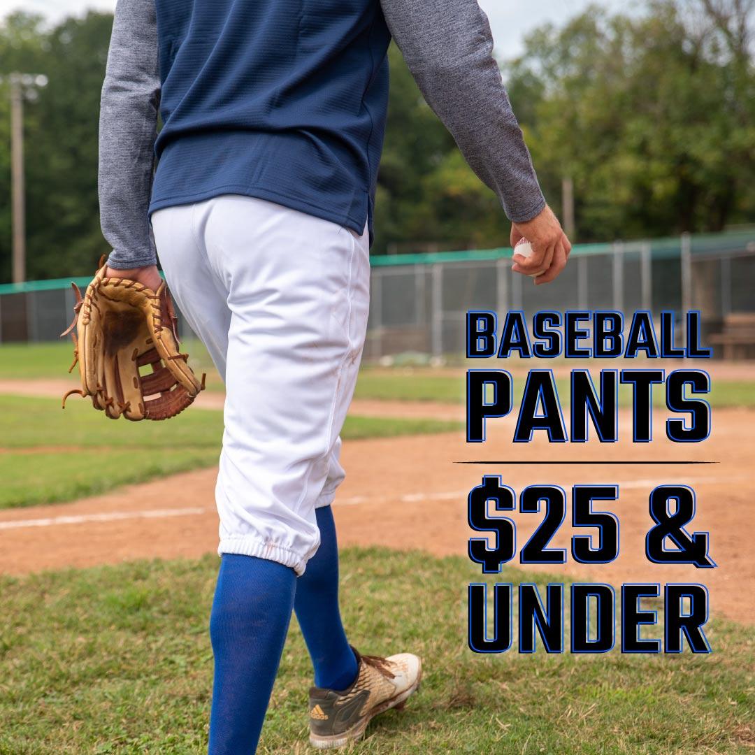 Baseball Uniform Pants $25 & Under