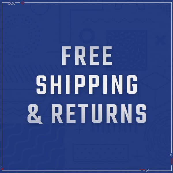 Free U.S. Continental Shipping & Returns. See Details.