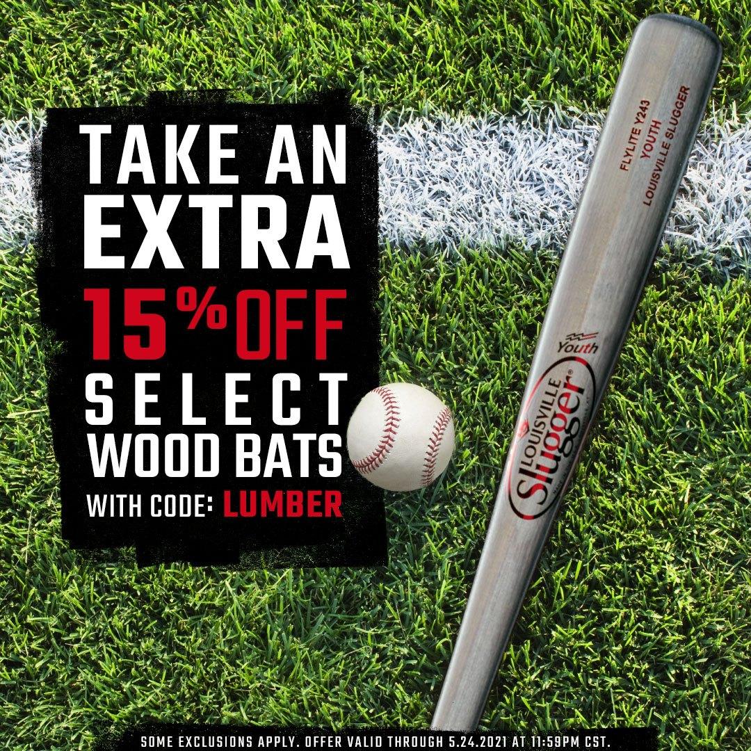 Wood Bats On Sale