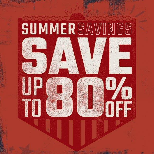 Shop Savings Now