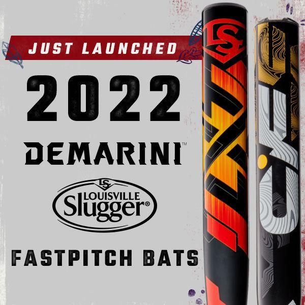 2022 Louisville Slugger and DeMarini Fastpitch Bats