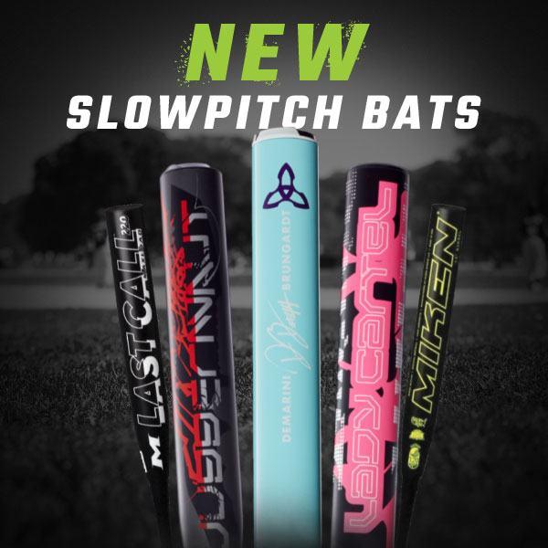 New Slowpitch Bats