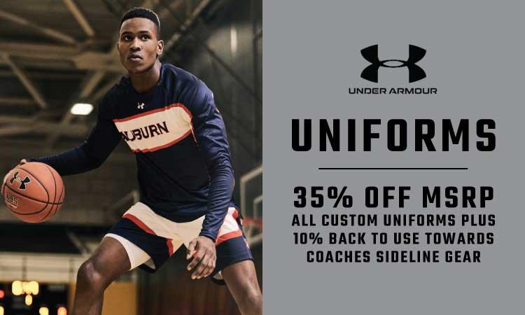 Under Armour Uniforms - 35% Off MSRP
