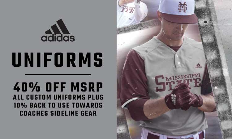 Adidas Uniforms - 40% Off MSRP