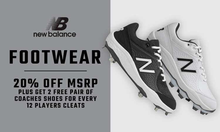 New Balance Footwear - 20% Off MSRP