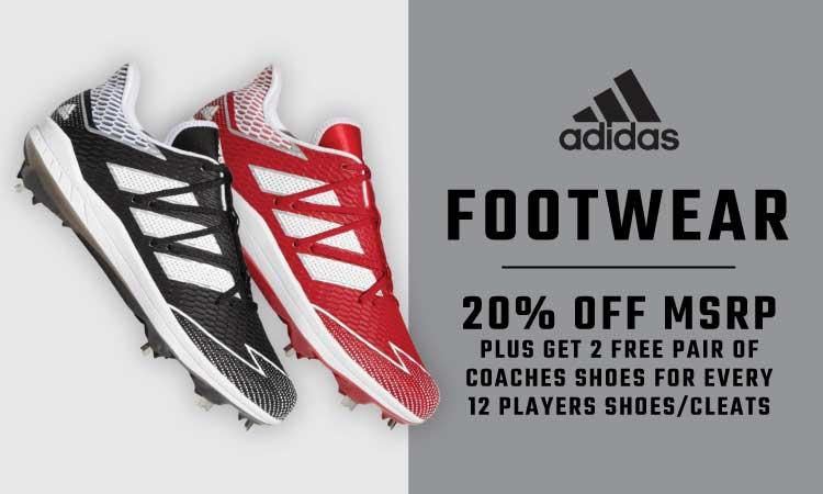 Adidas Footwear - 20% Off MSRP