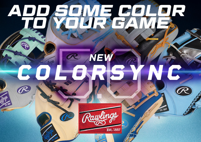 Rawlings ColorSync Heart Of The Hide Gloves